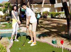 太平洋海岛俱乐部迷你高尔夫
