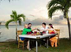 太平洋海岛俱乐部沙滩BBQ