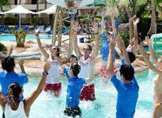 太平洋海岛俱乐部水上篮球